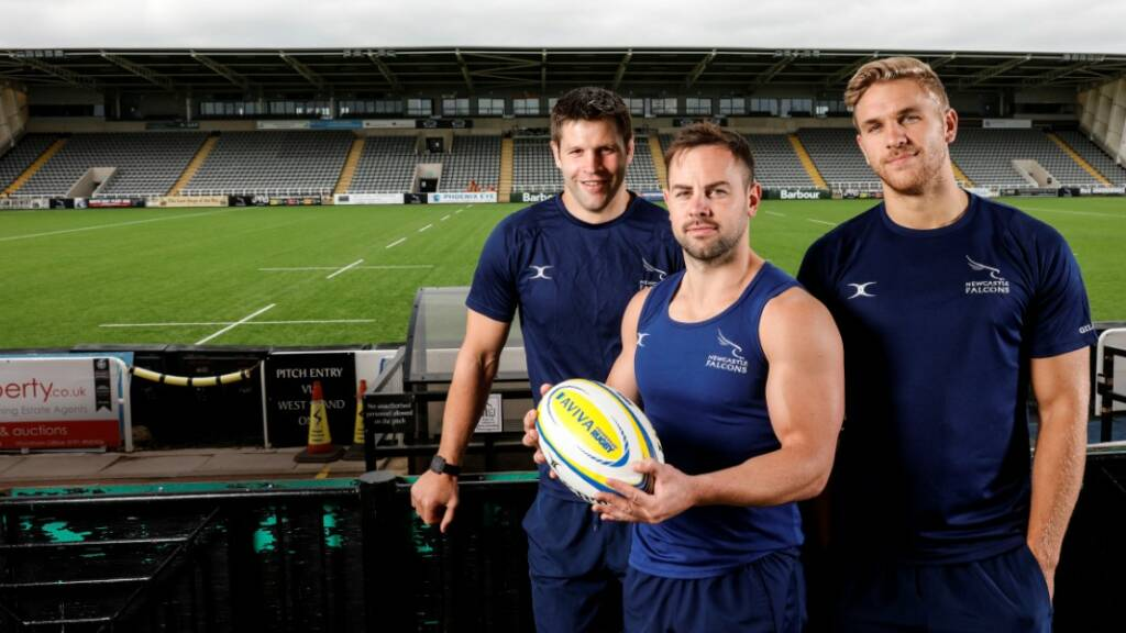 Ally Hogg says Newcastle Falcons aiming high in Aviva Premiership Rugby