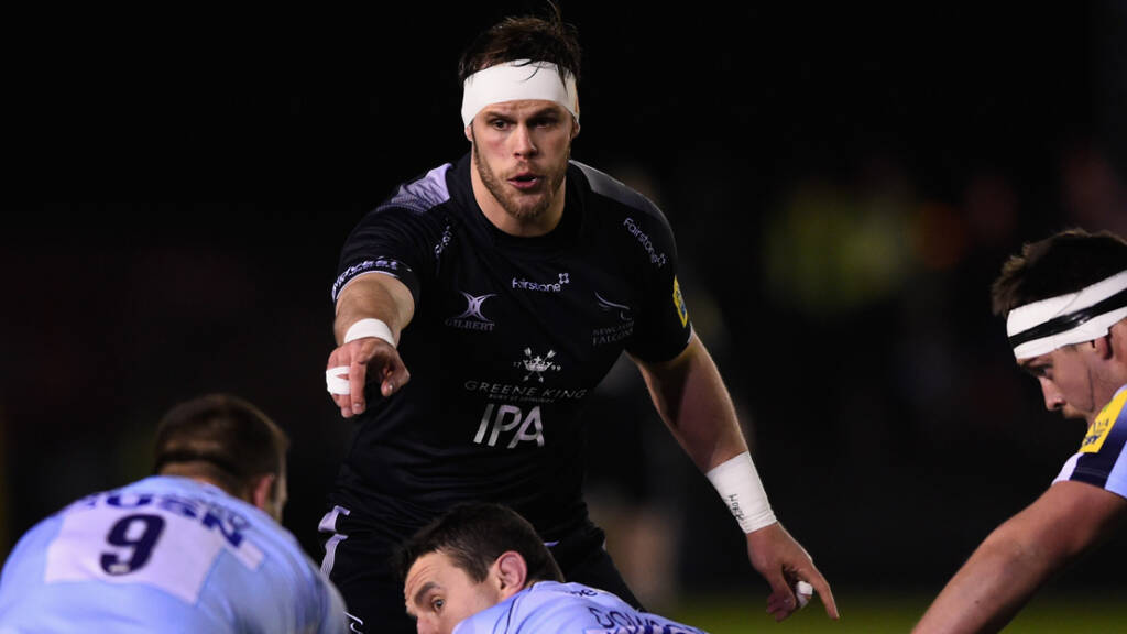 Newcastle Falcons team to face Worcester Warriors