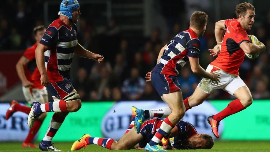 Match Report: Bristol Rugby 0 Saracens 39