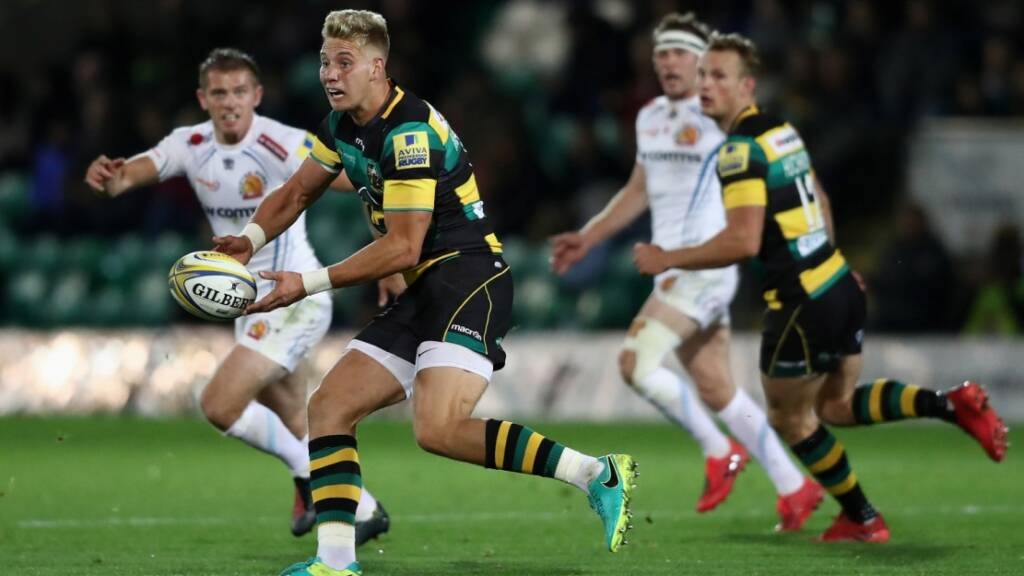 Harry Mallinder starts at centre for Northampton Saints