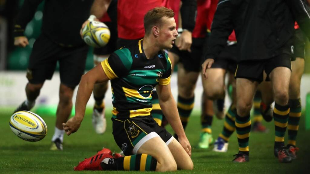 George North set up Rory Hutchinson for the crucial second try