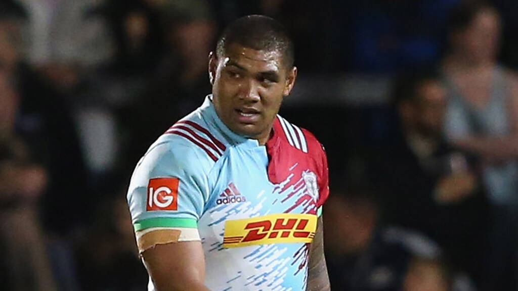 Harlequins' Mat Luamanu banned for five weeks