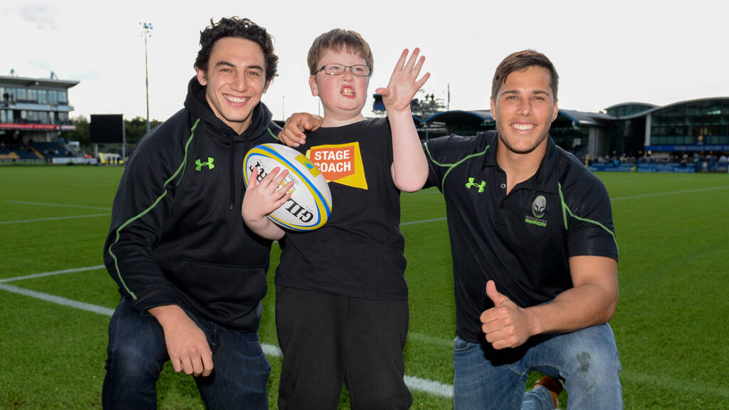 #Lead the Way – Worcester Warriors making a big difference