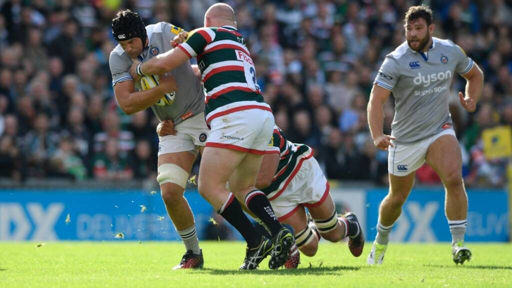 Charlie Ewels has featured in all five of Bath Rugby's Aviva Premiership Rugby fixtures this term