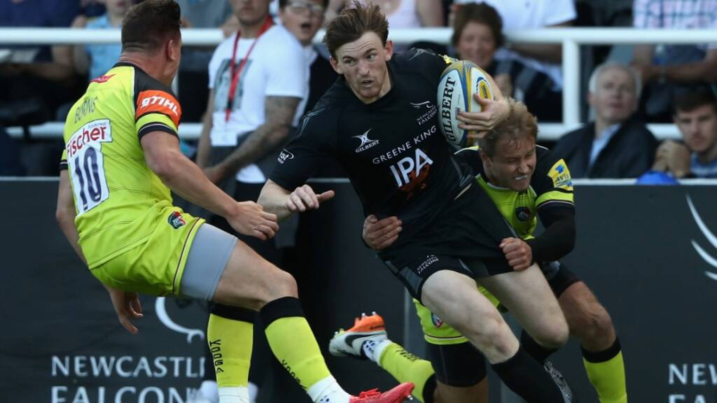 Simon Hammersley has played all five of Newcastle Falcons' Aviva Premiership Rugby games this season