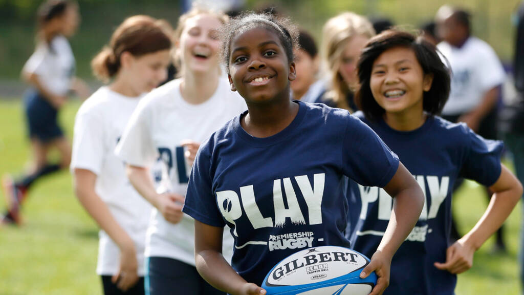 Harlequins Foundation launches new girls' rugby programme