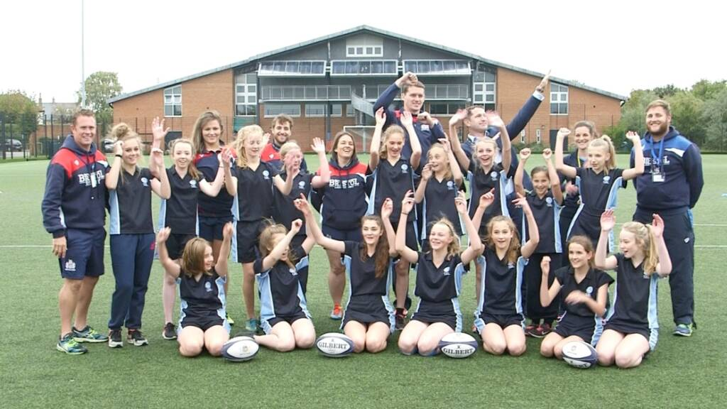 Ian Evans acclaims Bristol Rugby's Eagle Project in Women's Sport Week