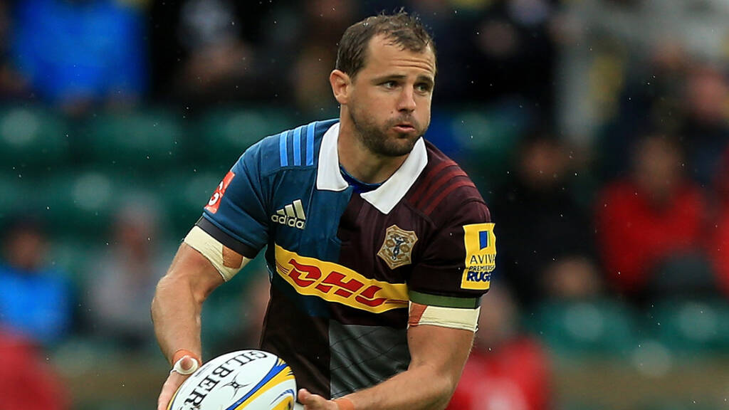 Harlequins team to play Northampton Saints