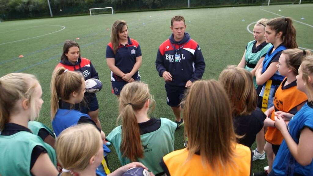 Bristol Rugby's Eagle Project shines in Women's Sport Week
