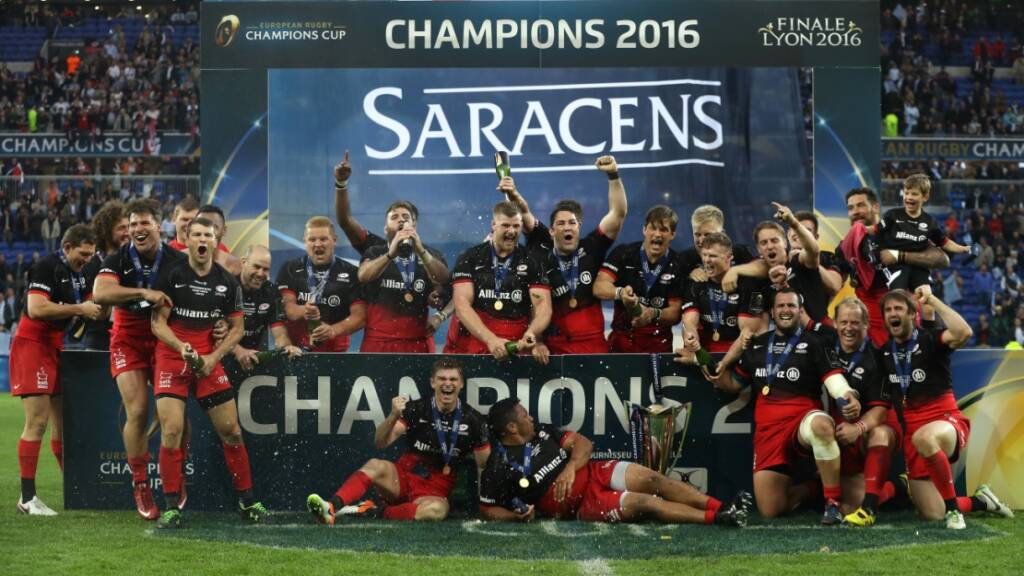 Premiership Rugby clubs in live European TV action