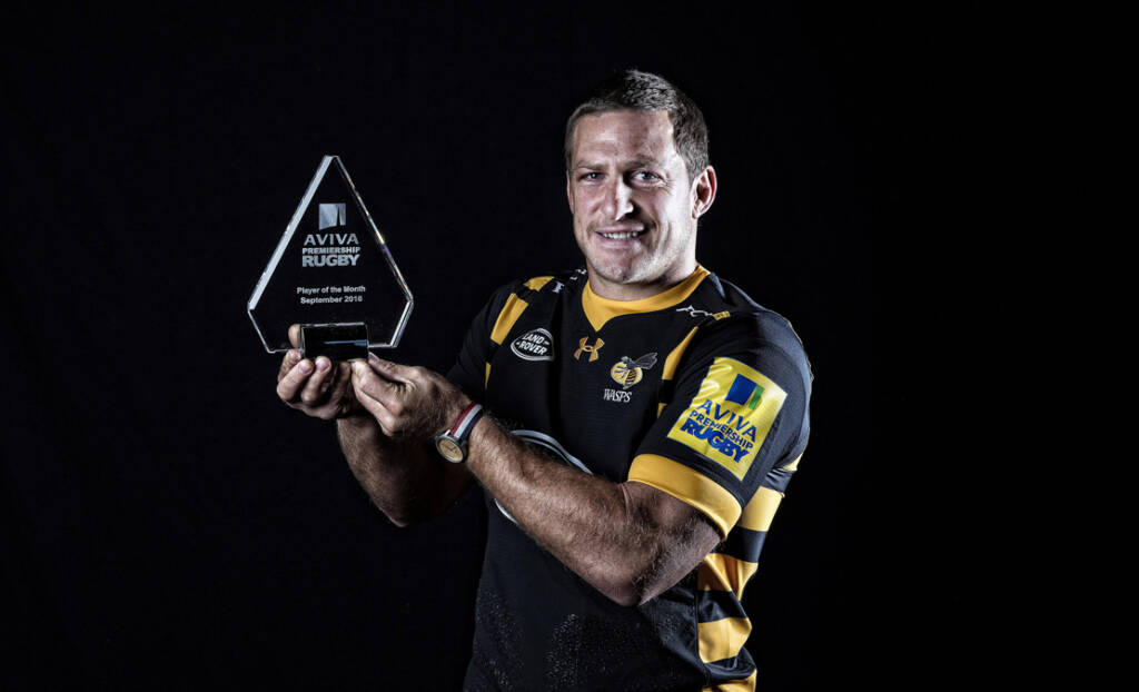 Jimmy Gopperth named Aviva Premiership Rugby Player of the Month for September