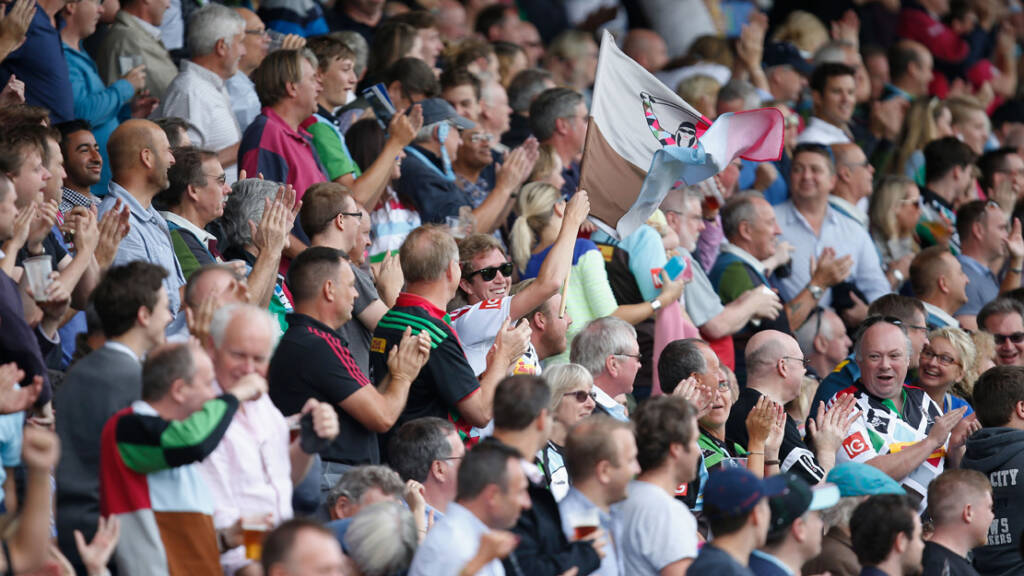 Big attendance rise for Aviva Premiership Rugby