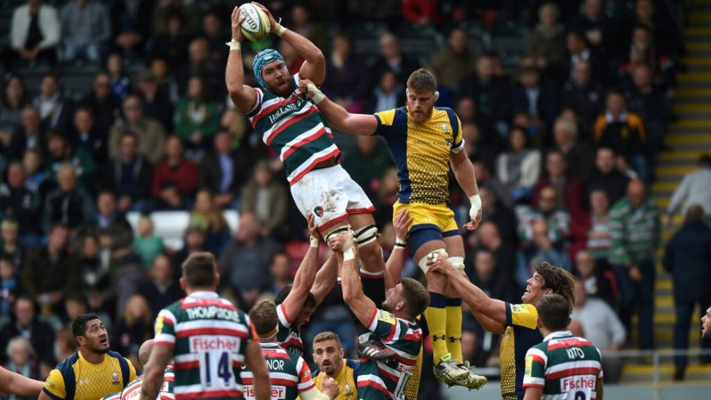 Leicester Tigers announce squad for Glasgow trip