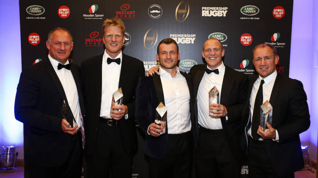Mike Tindall, Neil Back, Hugh Vyvyan, Mark Cueto and Richard Hill inducted into Premiership Rugby Hall of Fame