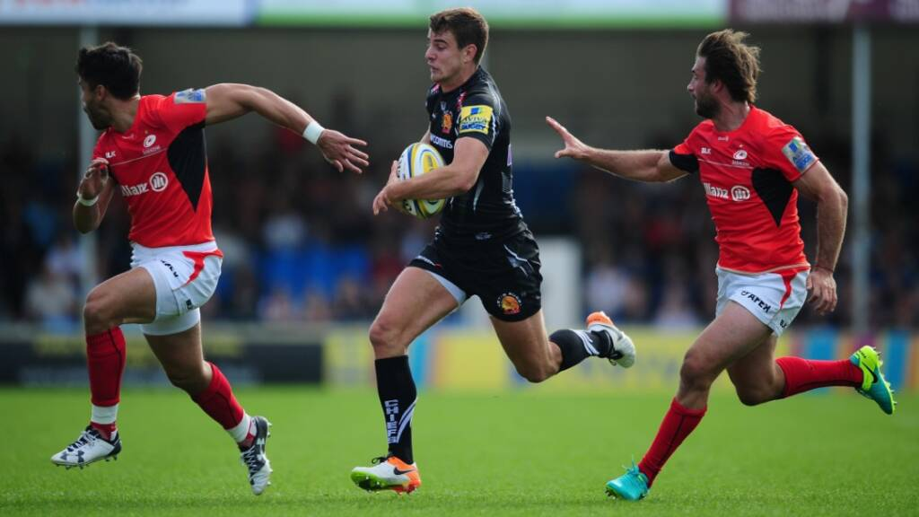 Ollie Devoto returns for the Chiefs. Generated by  IJG JPEG Library