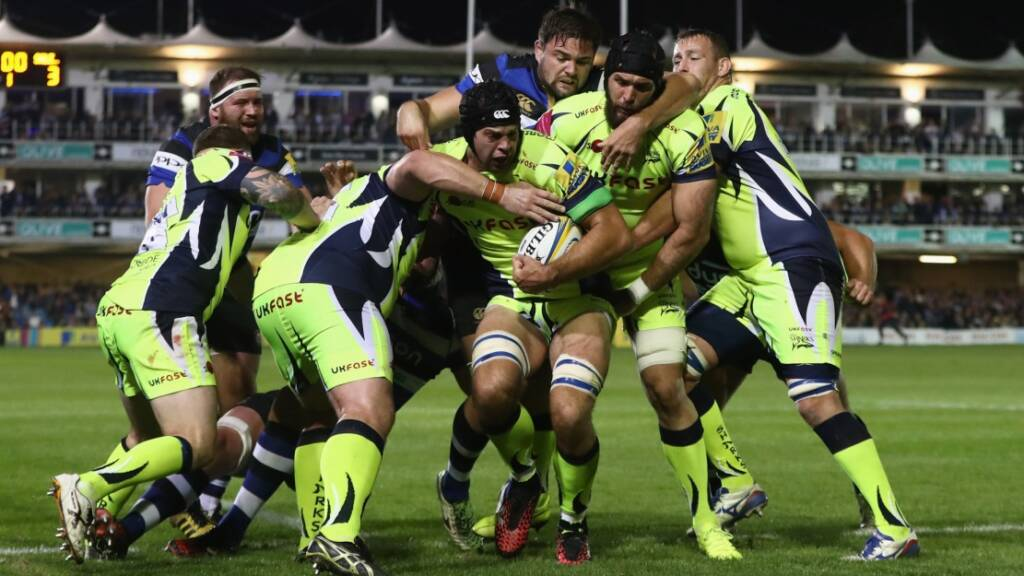 Josh Beaumont captains Sale Sharks in the Champions Cup
