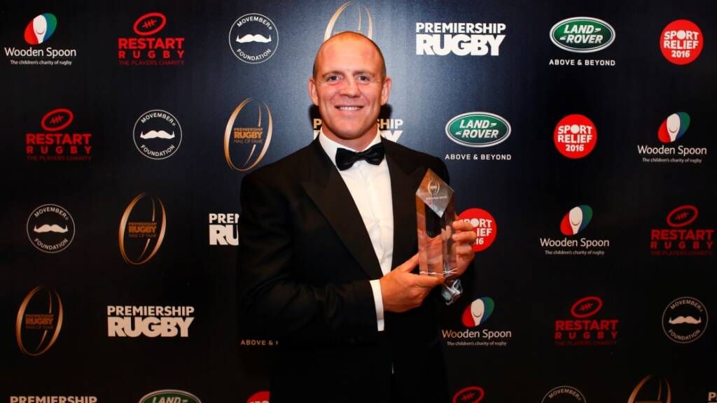 Mike Tindall hails club career as he is inducted into the Premiership Rugby Hall of Fame