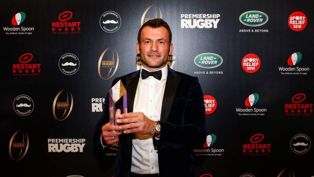 Sale Sharks debut lives long in memory for Hall of Fame inductee Mark Cueto