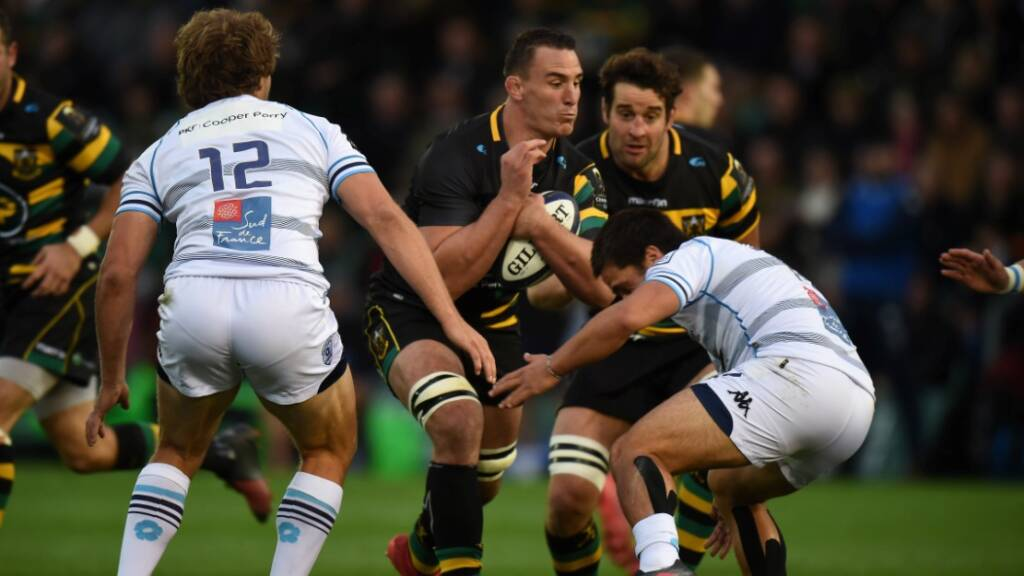 Louis Picamoles was integral in Northampton's win over Montpellier in Round 1