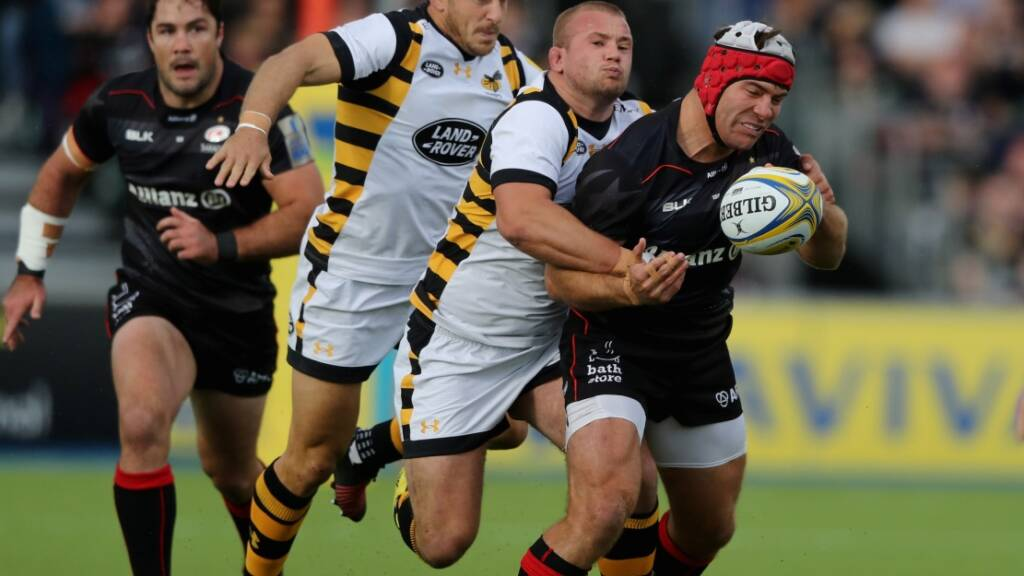 Schalk Burger comes in to start ahead of Jamie George