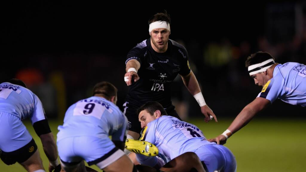 Newcastle Falcons team to face FC Grenoble