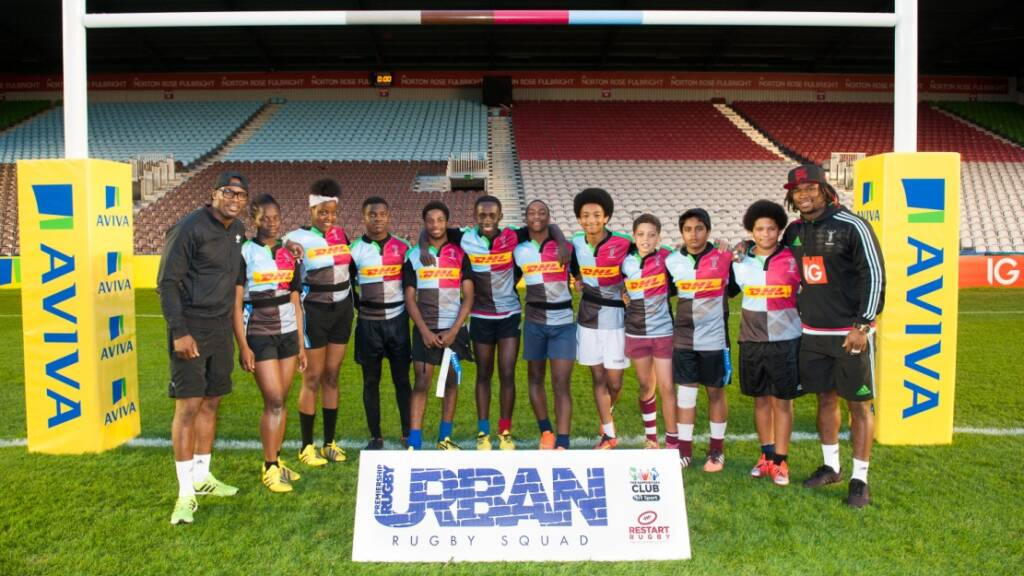 Harlequins' Urban Rugby Squad relishing the opportunity to play at Worcester Warriors' Sixways Stadium