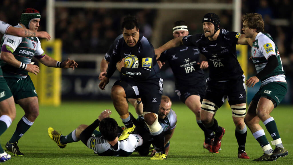 Newcastle Falcons prop Taione Vea forced to retire