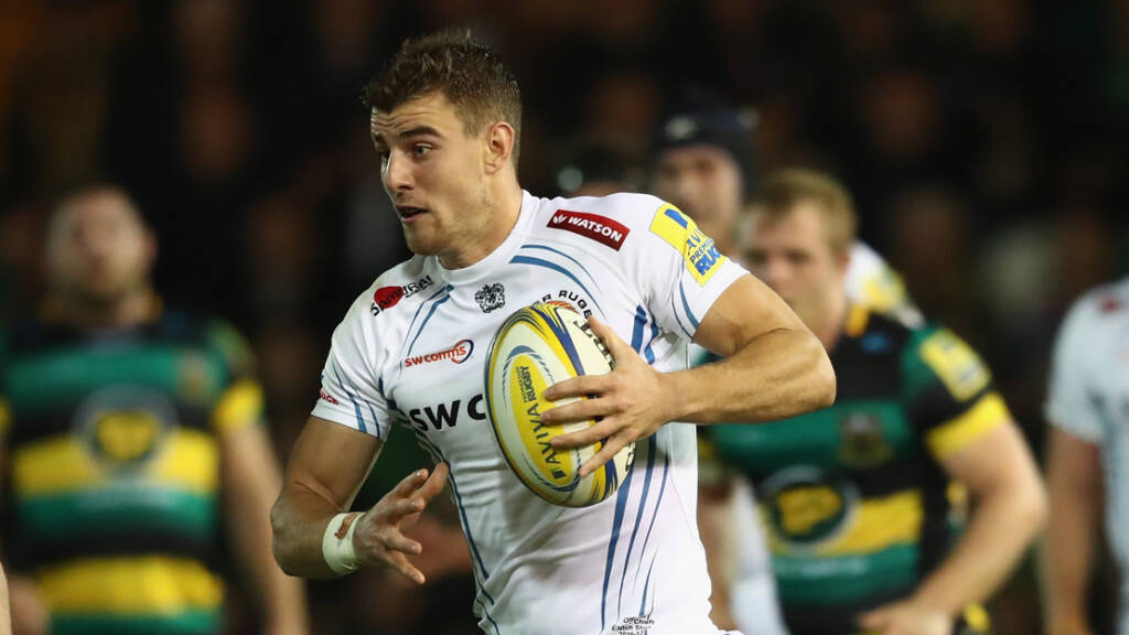 Exeter Chiefs' Ollie Devoto banks on home comforts