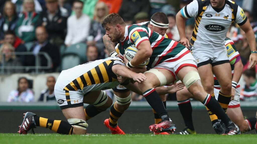 Leicester Tigers' Ed Slater suspended for two weeks