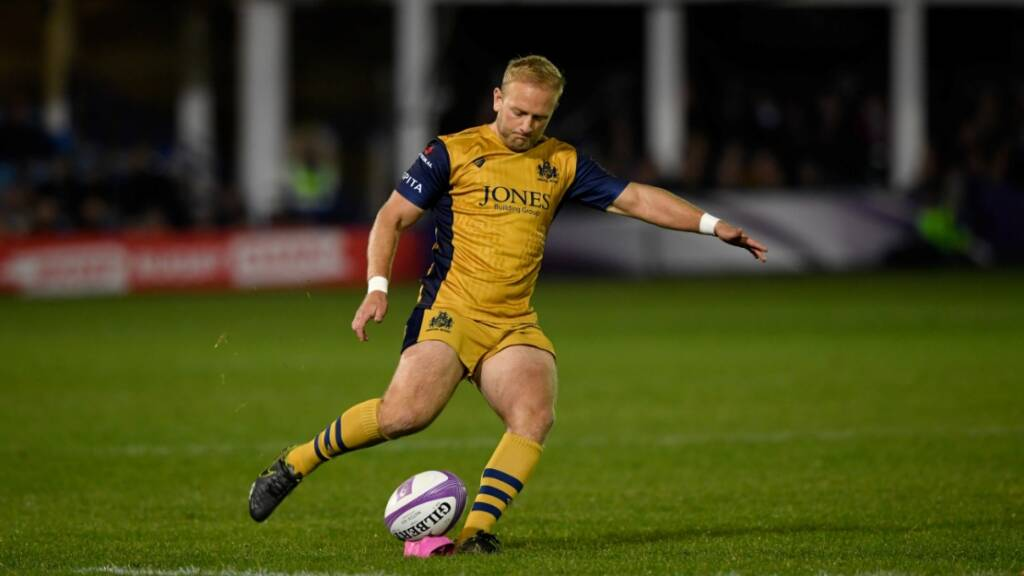 Shane Geraghty grateful to plug the fly-half gap at Bristol Rugby