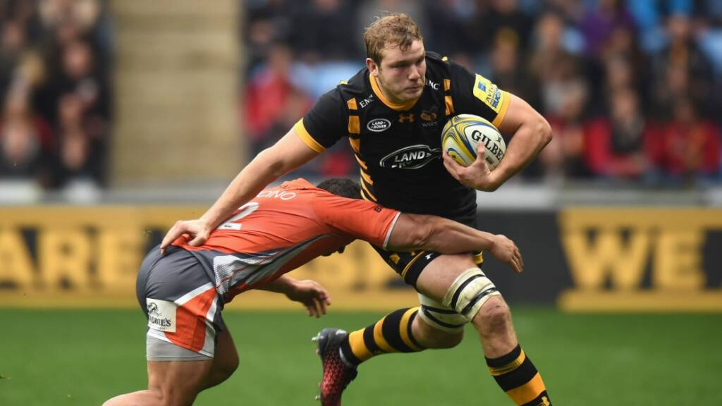 Joe Launchbury excited for return to Aviva Stadium with Wasps