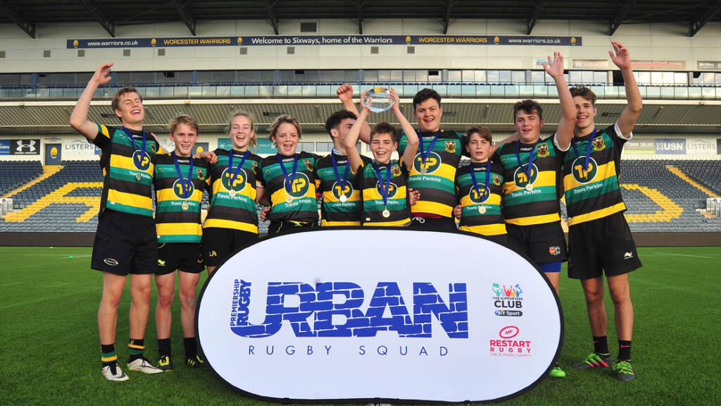 Northampton Saints' Urban Rugby Squads storm to victory at National Festival
