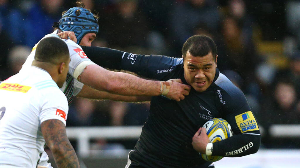 Newcastle Falcons to host benefit evening for Taione Vea