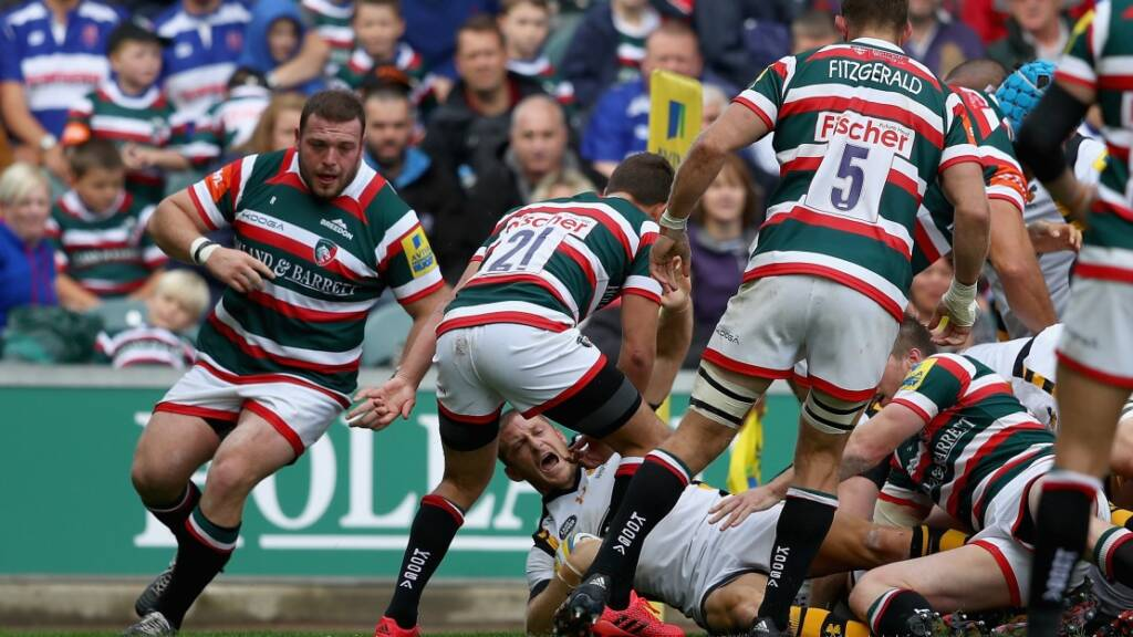 Leicester Tigers are targetting the Anglo-Welsh Cup according to centre George Catchpole