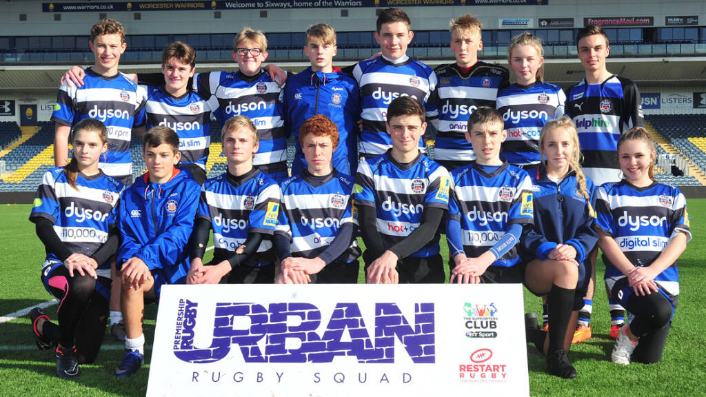 Bath teenager referees Urban Rugby Squad National Festival