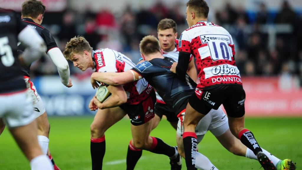 Ollie Thorley targets successful return to Franklin's Gardens with Gloucester Rugby