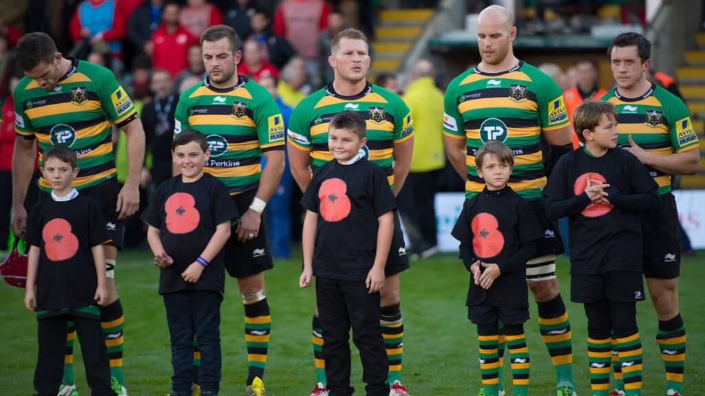 Northampton Saints to honour Remembrance Day