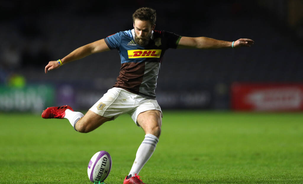 Harlequins team to play Ospreys