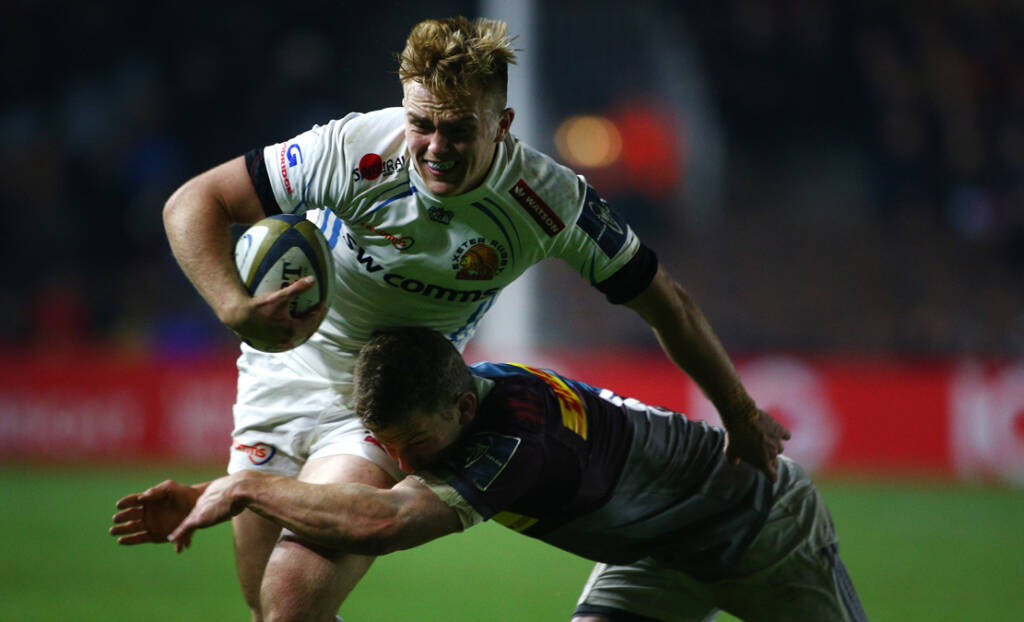 Exeter Chiefs' Harry Strong out to seize his big chance in Anglo-Welsh Cup