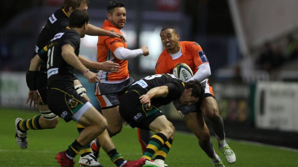 Jamie Elliott back and raring to go for Northampton Saints
