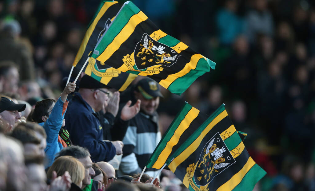 Record Anglo-Welsh Cup ticket sale at Franklin's Gardens