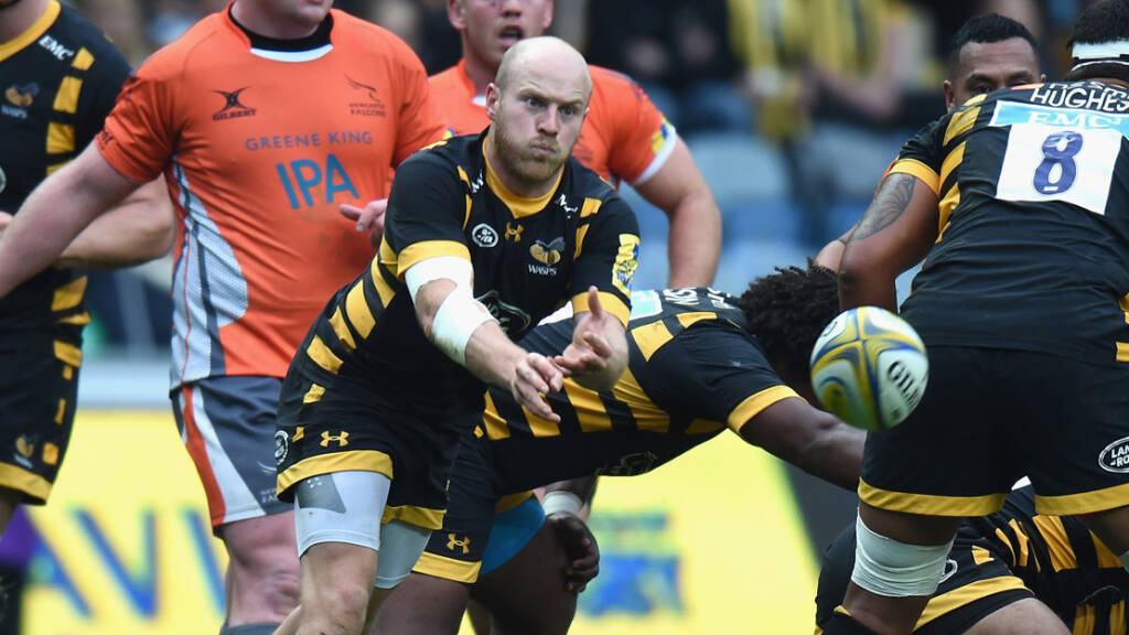 Wasps team to play Worcester Warriors