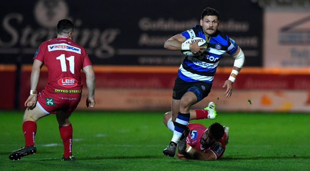 Match Report: Scarlets 44 Bath Rugby 21