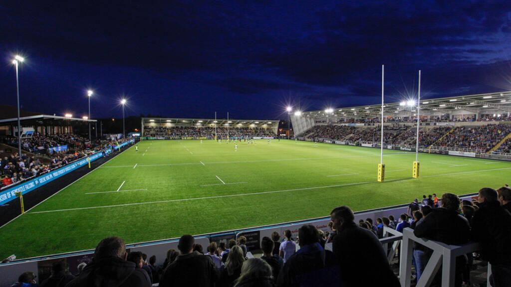 Newcastle Falcons prepare for season-high home crowd