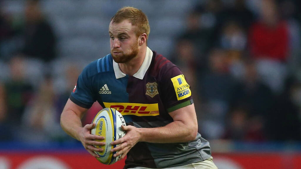 James Chisholm re-signs for Harlequins