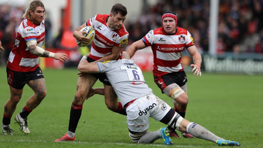 Mark Atkinson insists there is no need to panic at Gloucester Rugby