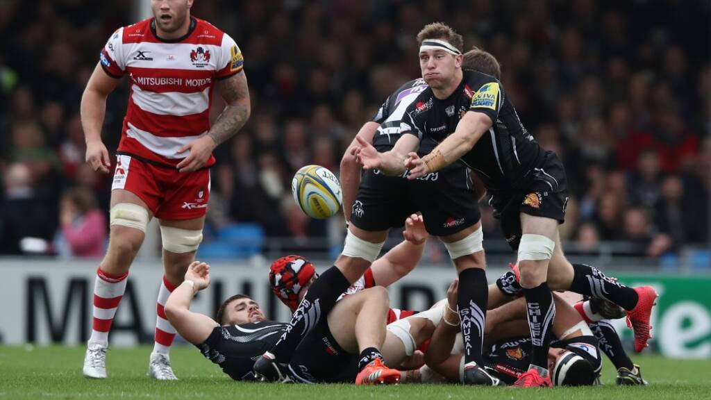 Will Chudley anticipates make or break three-game run for Exeter Chiefs