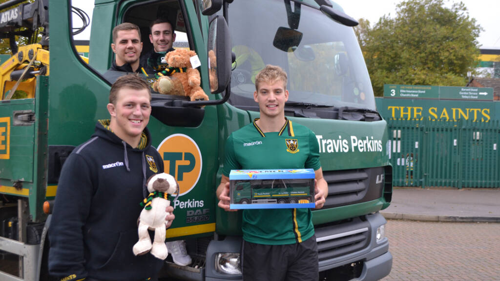 Countdown is on to the Travis Perkins Big Christmas Toy Collection
