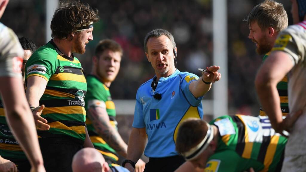 Referee appointments: Wigglesworth and Jackson in action