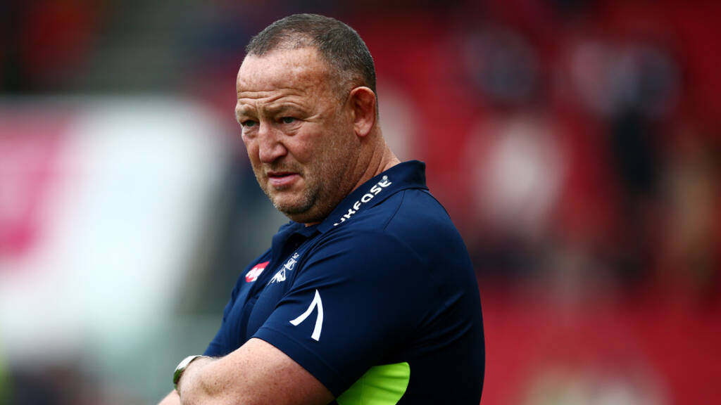 Sale Sharks' Steve Diamond Looking Forward To Sunday's Game